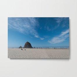 Haystack Rock, Cannon Beach Metal Print