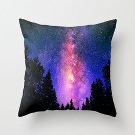 Mystical Night Throw Pillow