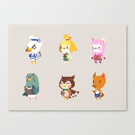 Animal Crossing: New Leaf Canvas Print