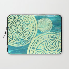 swimmingly three Laptop Sleeve
