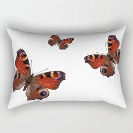 European Peacock Butterfly Rectangular Pillow