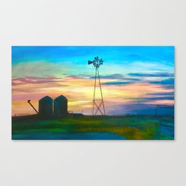 Amarillo by Morning Canvas Print