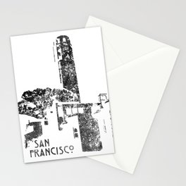 Coit Tower Stationery Cards