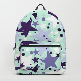 Fun pattern with stars and twinkle lights Backpack