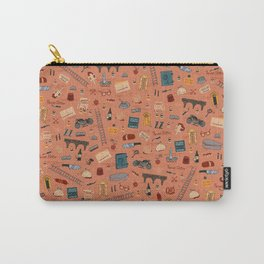 Budapest Hotel Plot Pattern Carry-All Pouch
