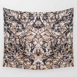Reflecting Pollock Wall Tapestry