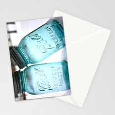Blue Ball Jars Stationery Cards