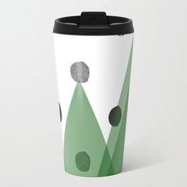 Christmas mountains Travel Mug