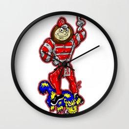 B-r-u-t-u-s  from THE Ohio State University Buckeyes, beating DOWN The Michigan W-o-l-v-e-r-i-n-e-s! Wall Clock