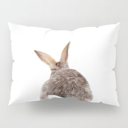 Bunny back side Pillow Sham