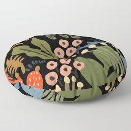 Jungle party Floor Pillow