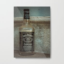Jack Daniel's Whiskey Metal Print