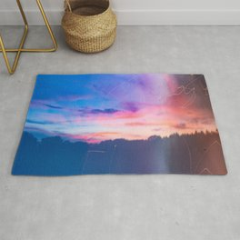 Cotton Candy Sunset Rug