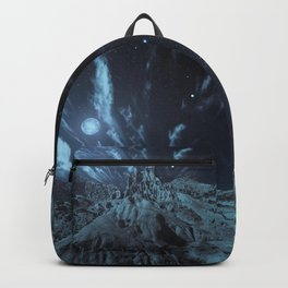 Blue Madness Backpack