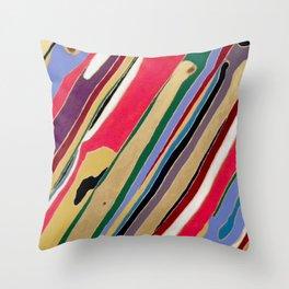 grain groovy Throw Pillow