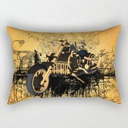 Steam motorcycle Rectangular Pillow
