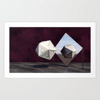 Six  &  Five Art Print