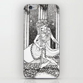 Madame Centaur iPhone Skin
