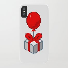 Animal Crossing Balloon Present iPhone Case