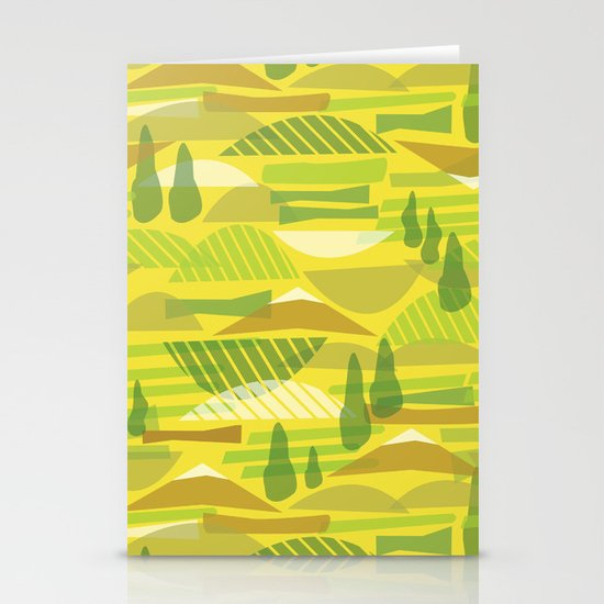 Italian Countryside Stationery Cards
