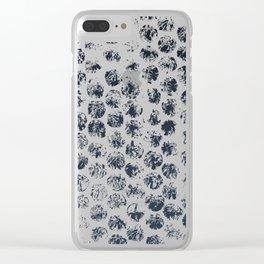 Cammo Dark Clear iPhone Case