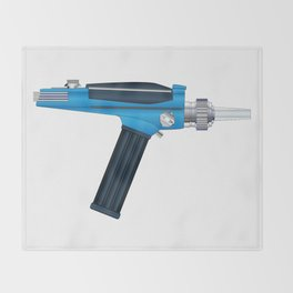 Ray Gun Throw Blanket