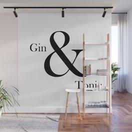Gin & Tonic Wall Mural