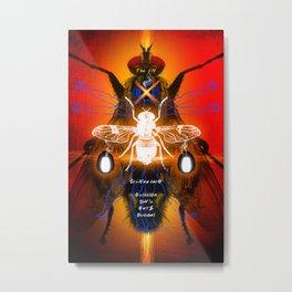 DAVID CRONENBERG SERIES :: THE FLY Metal Print