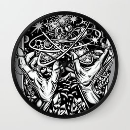 cat's cradle - vonnegut Wall Clock
