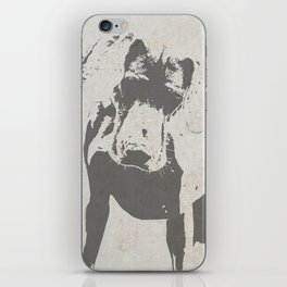 CURIOUS WEIMARANER iPhone Skin