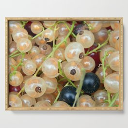 Berry currant harvesting Serving Tray