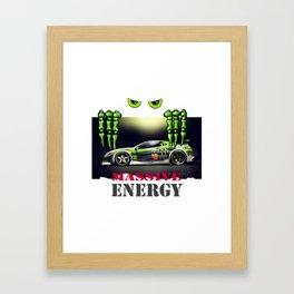 Massive Energy Framed Art Print