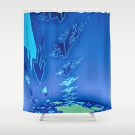 Sonic Invasion 1 Shower Curtain