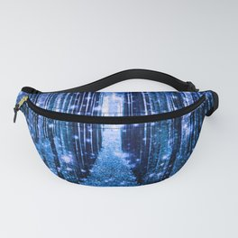 Magical Forest Bluest Blue Fanny Pack