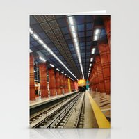 subway Stationery Cards featuring Subway by Diana Cretu