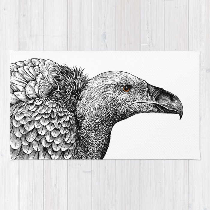 White-backed Vulture Rug