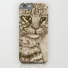 Ocelot Watching, by Ave Hurley iPhone 6s Slim Case