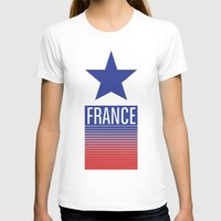 france T-shirts featuring FRANCE by Andrew O'Rourke