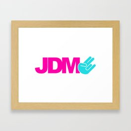 JDM shocker v6 HQvector Framed Art Print