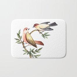 Bird lovers Bath Mat