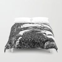 hawk Duvet Covers featuring Hawk by Anand Brai