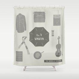 no.7 vanya Shower Curtain