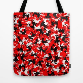 greyhounds stretching Tote Bag
