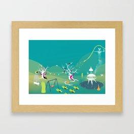 Paisaje63  Framed Art Print