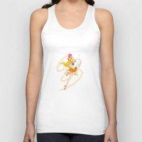 sailor venus Tank Tops featuring Sailor Venus  by Moonsia