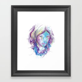 Abstract Thoughts Framed Art Print