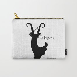 Flounce Carry-All Pouch