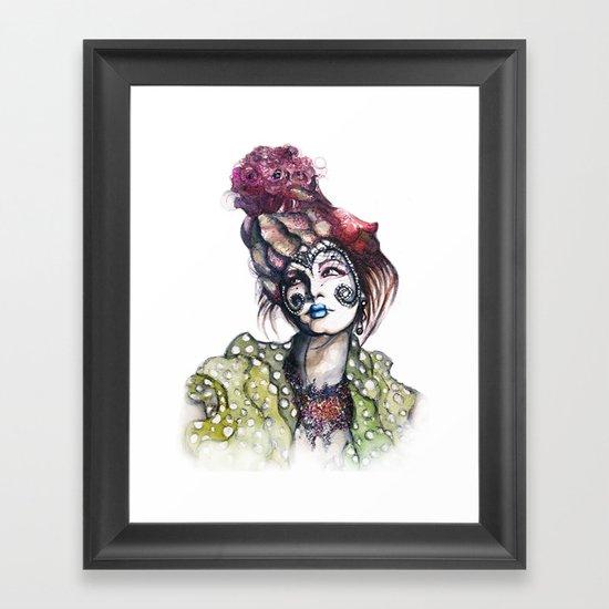 Great Expectations // Fashion Illustration Framed Art Print