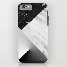 Monochromatic Marble Collage  iPhone 6 Tough Case