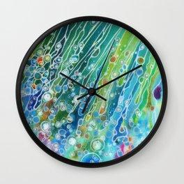 Rainbow Sprinkles Wall Clock